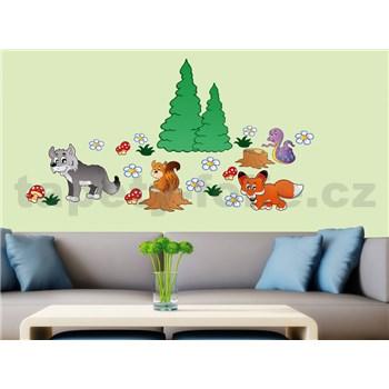 Samolepky na stenu Animals 50 cm x 70 cm
