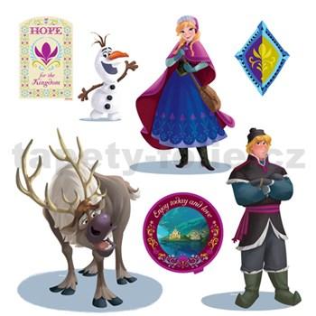 Samolepky na stenu detské - Frozen 30 x 40 cm