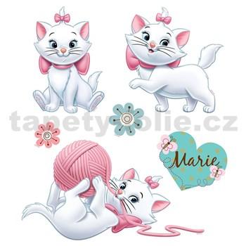Samolepky na stenu detské - mačička Maria 30 x 40 cm