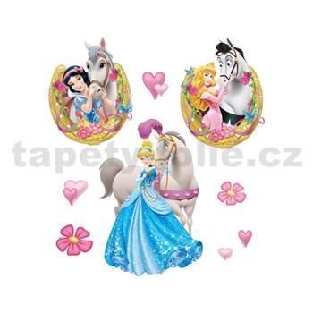 Samolepky na stenu detské - Disney Princezny 30 x 40 cm