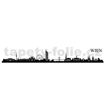 Samolepky na stenu Viedeň 164 x 38 cm