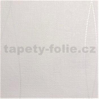 Vliesové tapety na stenu Natalia vlnkovky tvorené bodkami biele