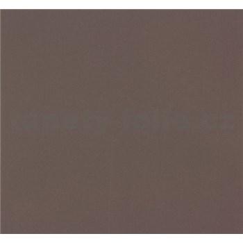 Vliesové tapety NENA štruktúrovaná tmavo hnedá