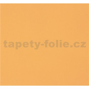 Vliesové tapety NENA štruktúrovaná svetlo oranžová