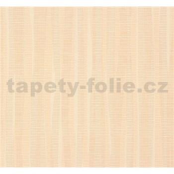 Vliesové tapety NENA abstrakt hnedo-oranžový