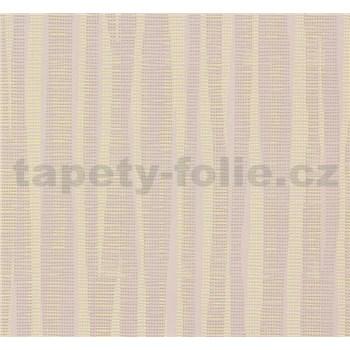 Vliesové tapety NENA abstrakt reflexný žltý