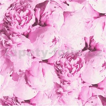 Vliesové tapety IMPOL New Studio pivonky ružové