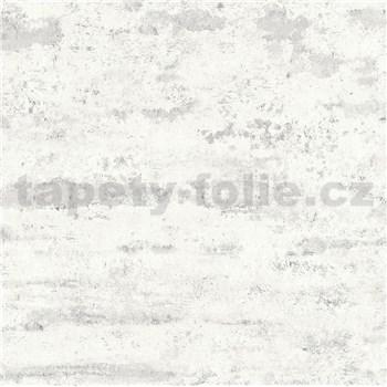 Vliesové tapety IMPOL New Studio moderná stierka bielo-sivá
