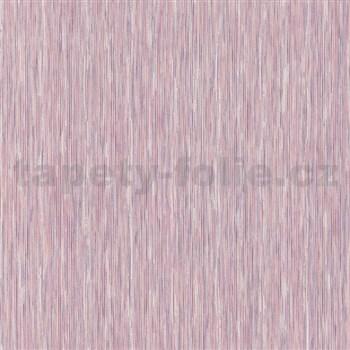Vliesové tapety na stenu Nizza prúžky fialové - POSLEDNÉ KUSY