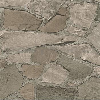 Vliesové tapety na stenu Belinda kamene tmavo hnedé