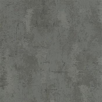 Vliesové tapety na stenu Belinda štruktúrovaná omietkovina čierna