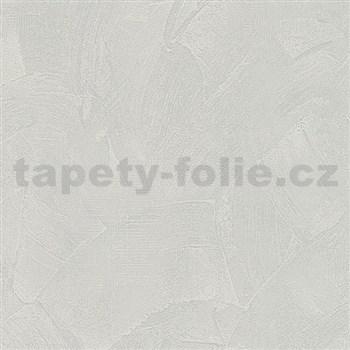 Vliesové tapety na stenu Belinda stierkovaná omietka sivá