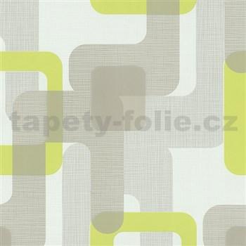 Vliesové tapety na stenu Novara moderné štvorca zelene