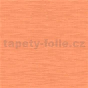 Vliesové tapety na stenu IMPOL Novara 3 štruktúrované jednofarebné oranžové