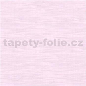 Vliesové tapety na stenu IMPOL Novara 3 štruktúrované jednofarebné svetlo ružové