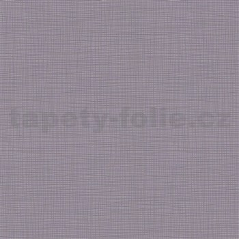 Vliesové tapety na stenu IMPOL Novara 3 štruktúrované jednofarebné tmavo sivá