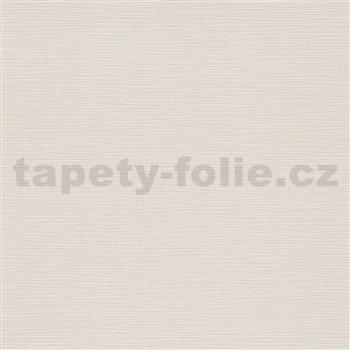 Vliesové tapety na stenu IMPOL Novara 3 štruktúrované jednofarebné krémové