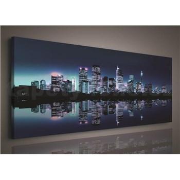 Obraz na stenu veľkomesto 145 x 45 cm