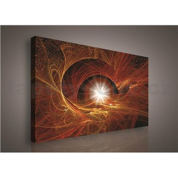 Obraz na stenu hviezdne nebo 75 x 100 cm