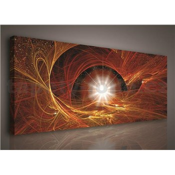 Obraz na stenu hviezdne nebo 145 x 45 cm