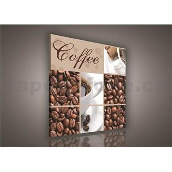 Obraz na stenu Coffee 80 x 80 cm