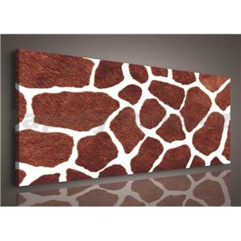 Obraz na stenu žirafia koža 145 x 45 cm