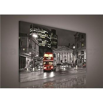 Obraz na stenu Double Decker v Londýne 75 x 100 cm