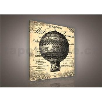Obraz na stenu Ballon de Paris 80 x 80 cm