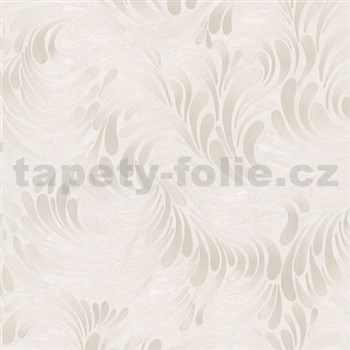 Vliesové tapety na stenu Opulence moderný vzor krémový