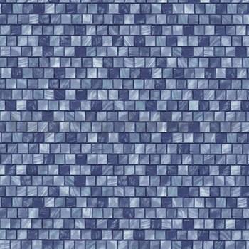 Vliesové tapety na stenu Origin - mozaika modrá