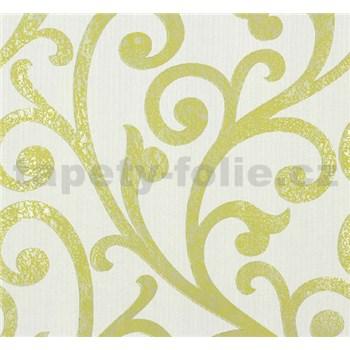 Vliesové tapety na stenu Ornamental Home - ornament zelený
