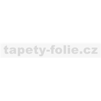 Samolepiace ukončovacie pásiky biely lesklý 1,8 cm x 5 m