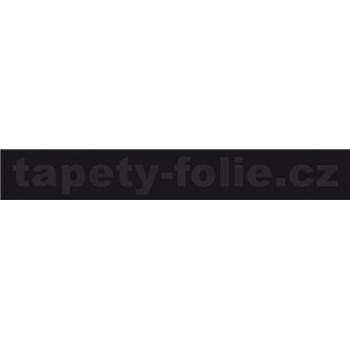 Samolepiace ukončovacie pásiky čierny matný 1,8 cm x 5 m