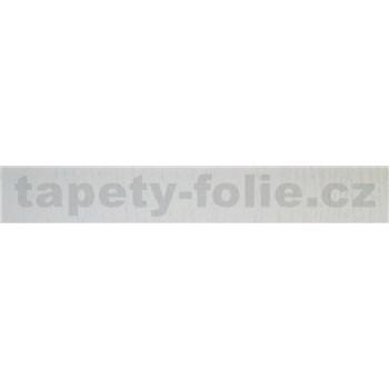 Samolepiace ukončovacie pásiky biele drevo 1,8 cm x 5 m