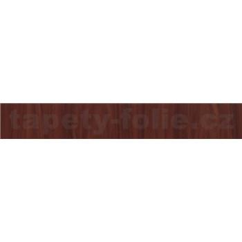 Samolepiace ukončovacie pásiky mahagonové drevo svetlé 1,8 cm x 5 m