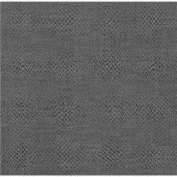 Vliesová tapeta na stenu Polar štruktúrovaná tmavo sivá