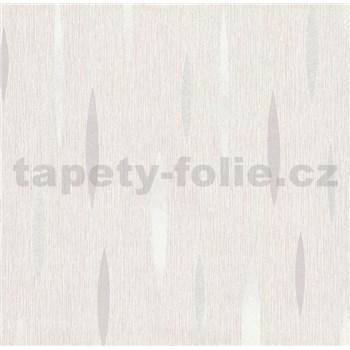 Vliesová tapeta na stenu Polar abstrakt svetlo sivý, biely, strieborný
