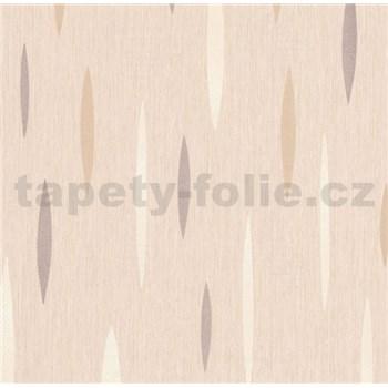Vliesová tapeta na stenu Polar abstrakt krémový, strieborný, biely
