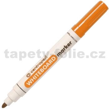 Stierateľný Centropen 8559 oranžový, guľatý hrot, stopa 2,5 mm