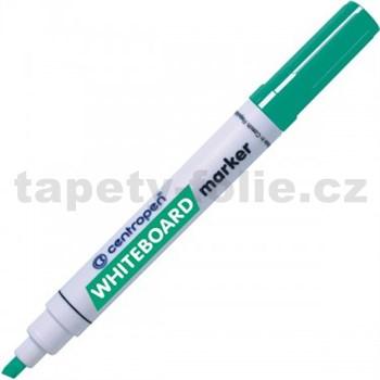 Stierateľný Centropen 8569 zelený, klínový hrot, stopa 1-4,5 mm