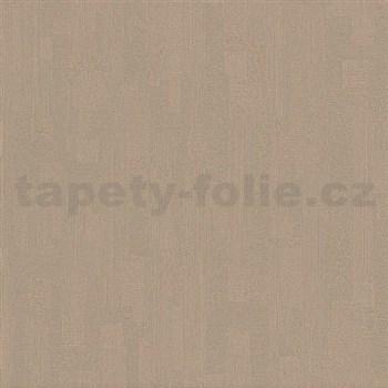 Vliesové tapety na stenu Pure and Easy štuk tmavo hnedý