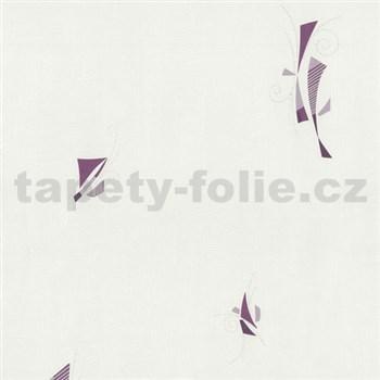 Vliesové tapety na stenu Pure and Easy abstrakt fialový