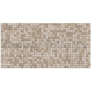 Obkladové 3D PVC panely rozmer 955 x 480 mm mozaika Peru hnedá so vzorom