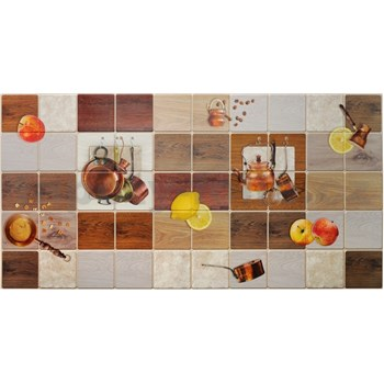 Obkladové 3D PVC panely rozmer 955 x 480 mm kuchynský motív