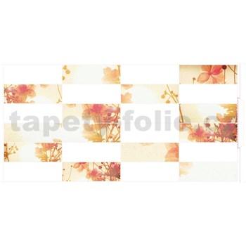 Obkladové 3D PVC panely rozmer 955 x 480 mm kvety