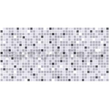 Obkladové 3D PVC panely rozmer 957 x 480 mm, hrúbka 0,4mm, mozaika sivá