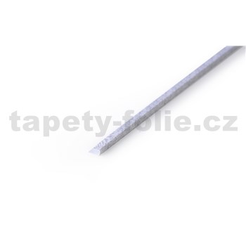 Profil mozaika sivý, hrúbka 2,5 mm, rozmer 900 x 8 mm