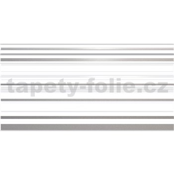 Obkladové 3D PVC panely rozmer 957 x 480 mm, hrúbka 0,4mm, pruhy sivo-biele s trblietkami