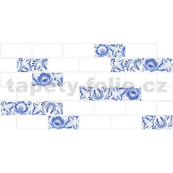 Obkladové 3D PVC panely rozmer 966 x 484 mm obklad Metrostyl s dekorom cibulák