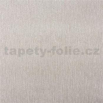 Papierové tapety na stenu štruktúrovaná svetlo hnedá